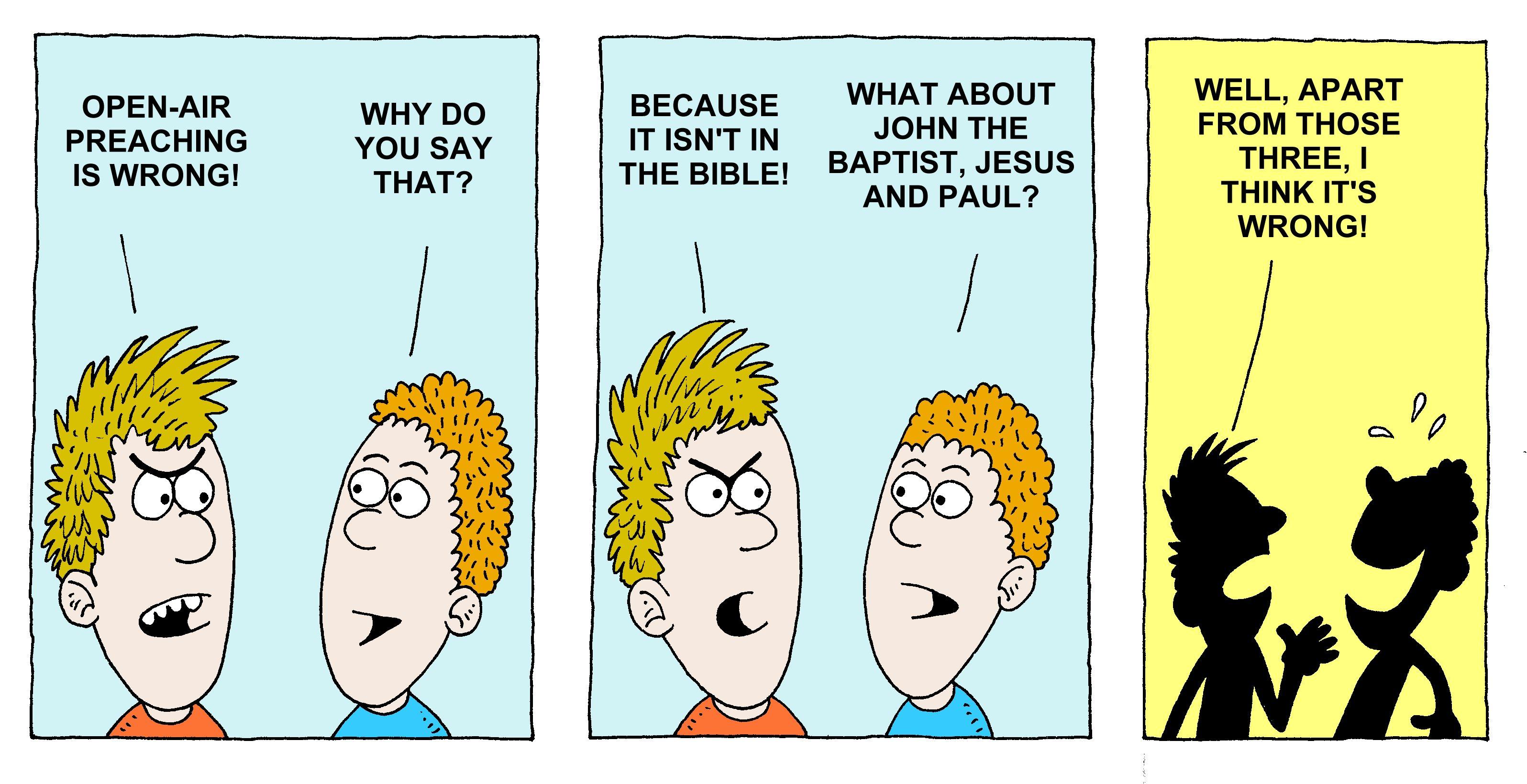 Bible/Bible cartoons: Richard Gunther - free Christian ...