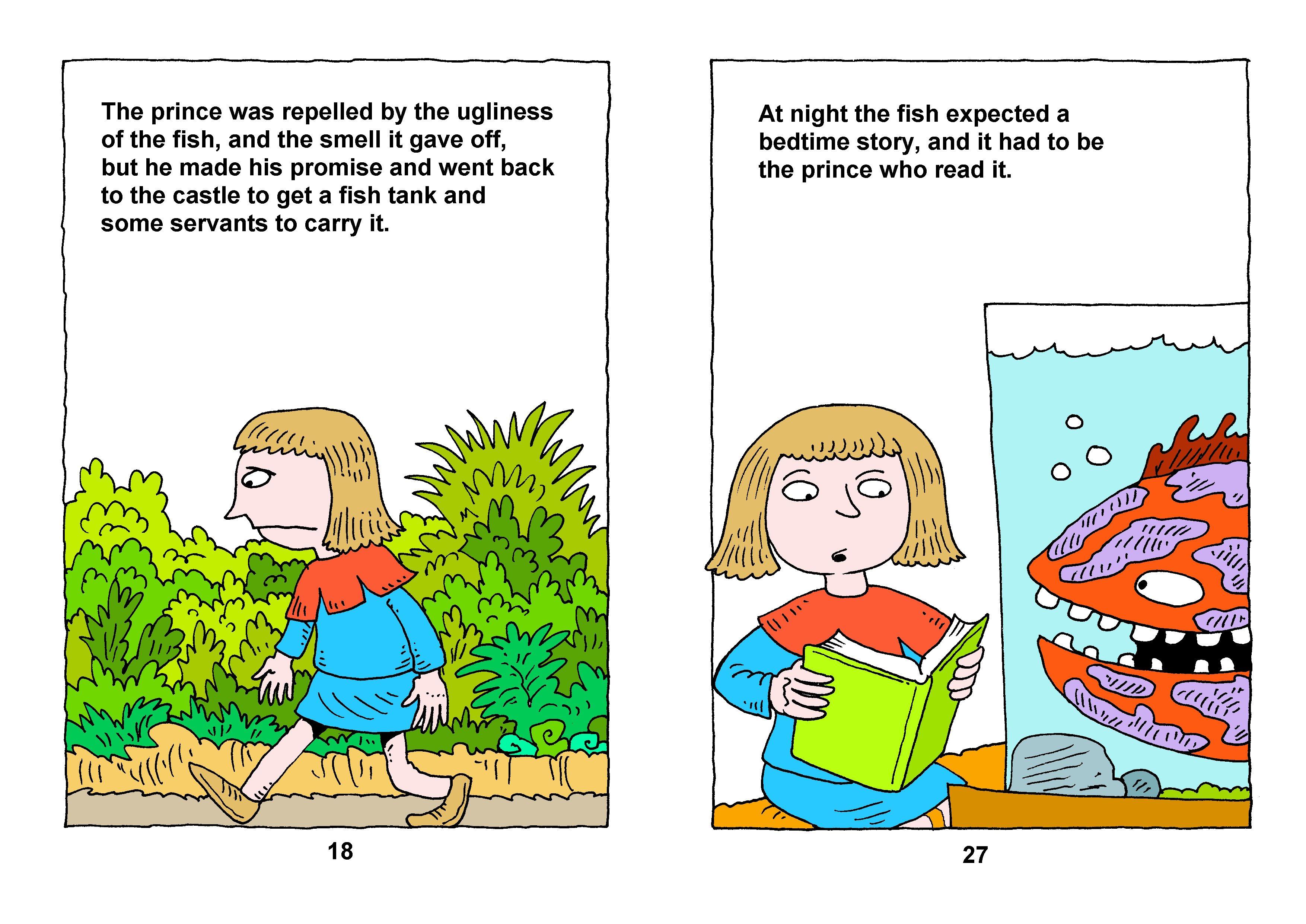 Bible/Fish Princess Story: Richard Gunther – free Christian