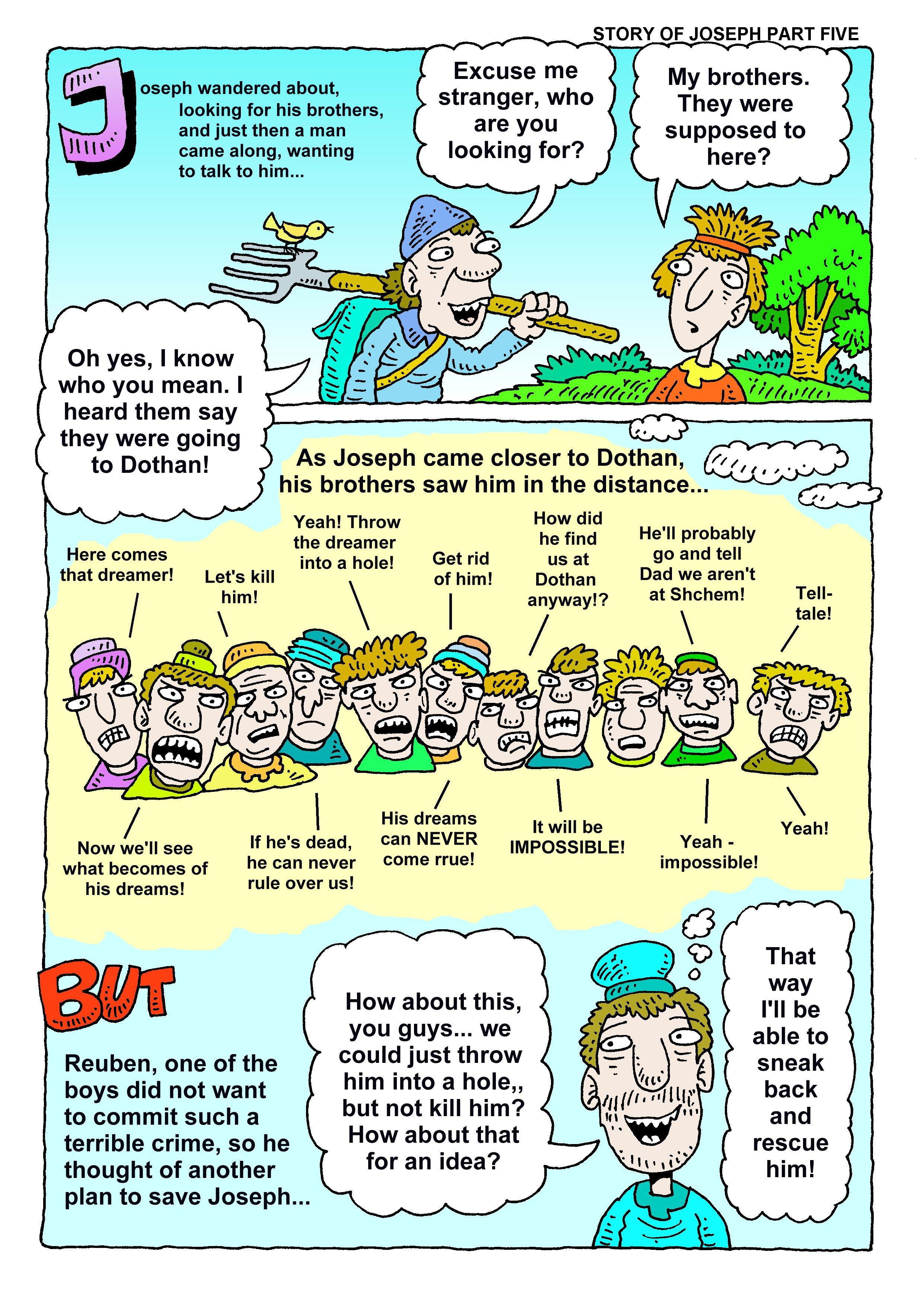 Bible Joseph Story Richard Gunther Free Christian Resources